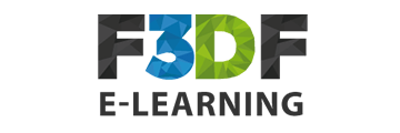 F3DF E-Learning logo